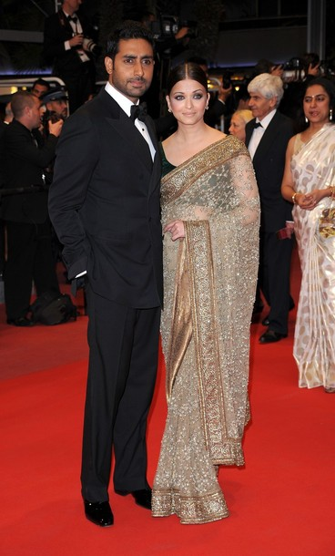 CANNES, FRANCE – MAY 17: Actress Aishwarya Rai Bachchan and Abhishek ...