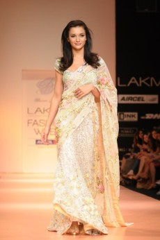 Lakme fashion week resort 2012 day 2 indian fashion police whenever i see a beautiful chantilly lace saree the name bhairavi jaikishan does cross my mind so i was thrilled to see the grand bridal lehengas and aloadofball Gallery