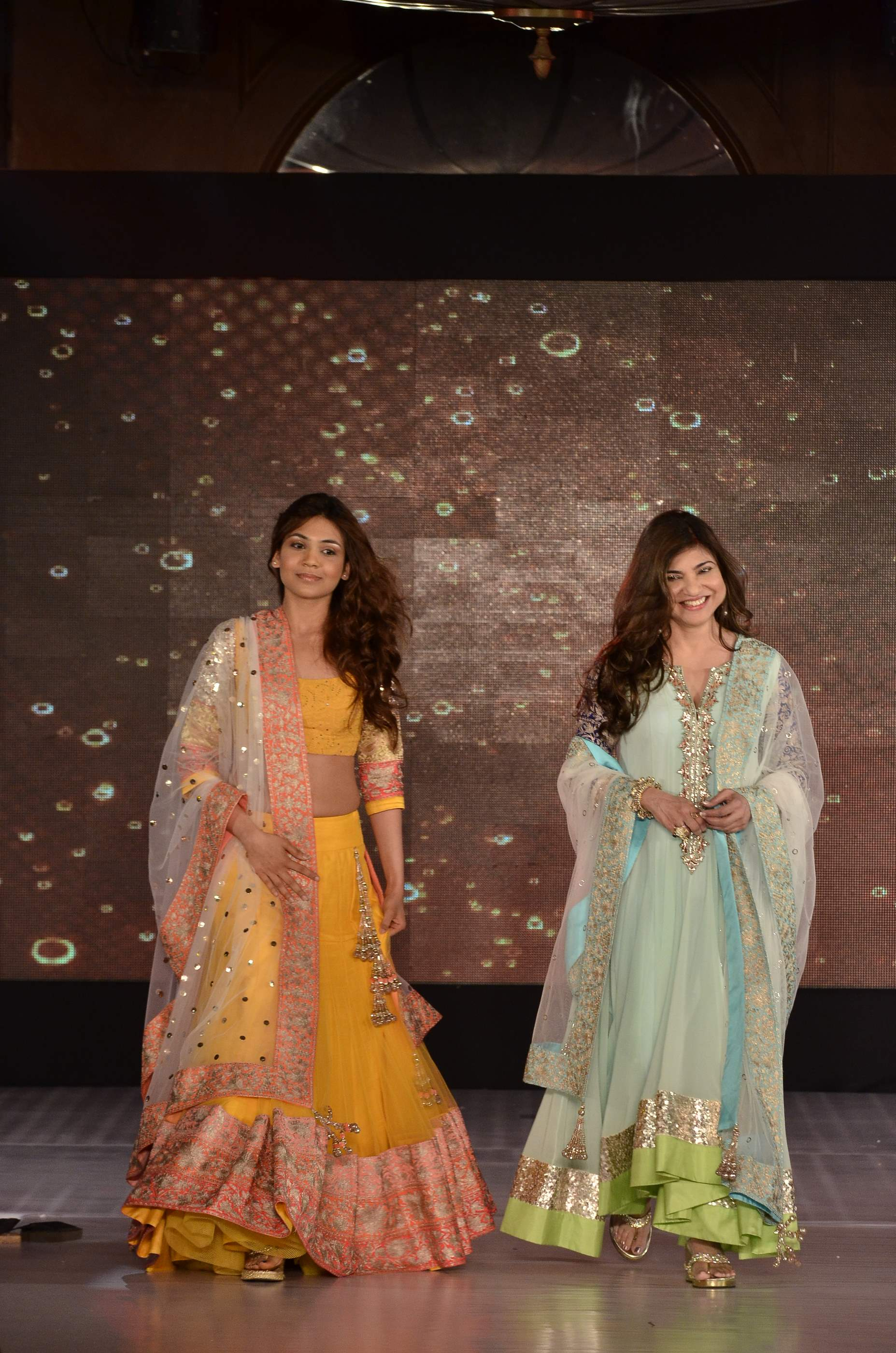 for    Save the Girl Child    initiative   187  alka yagnik with daughterAlka Yagnik Daughter Photos