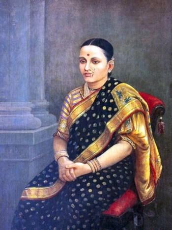 Paithani-RajaRaviVarma
