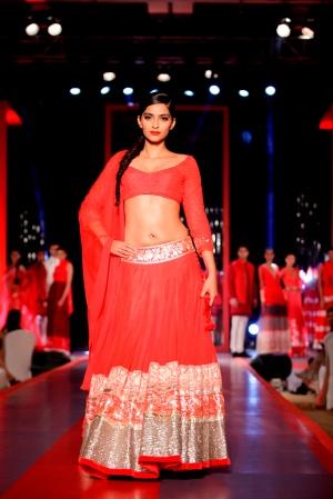 Show stoppper Sonam Kapoor